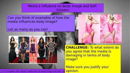 (KS3 7/8/9) Media Influence on Body Image