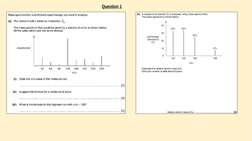 Random IR & MS Exam Q's with answers
