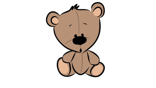 Teddy Bear- Clipart- For Personal or Commercial use