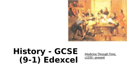 GCSE - History - Medicine - Edexcel