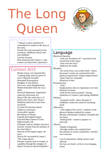 Feminine Gospels The Long Queen