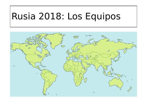 La Copa Mundial (World Cup): Los Países