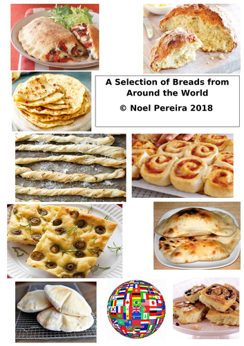 A Selection of Breads from around The World