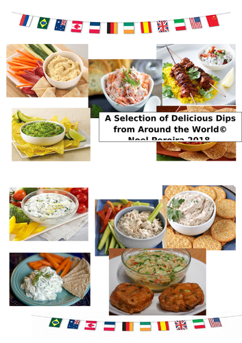 A Selection of Dips from around the World