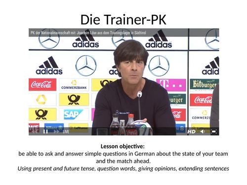 Fußball-Weltmeisterschaft 2018 - Die Trainer-PK