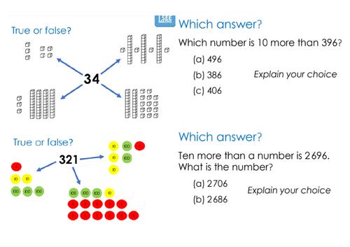Maths Reasoning Booklet - Year 3