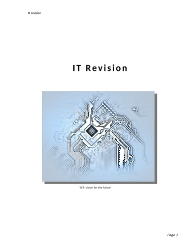 It Revision Guide (KS3)