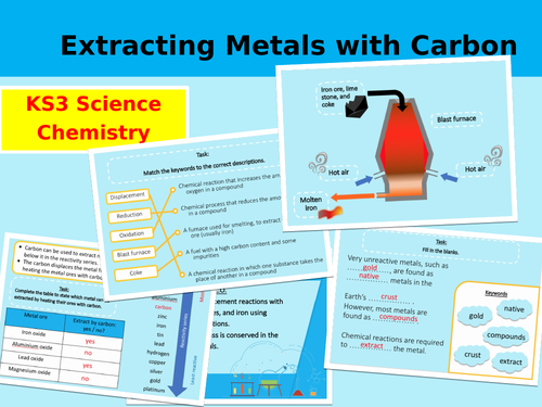 Extracting Metals with Carbon