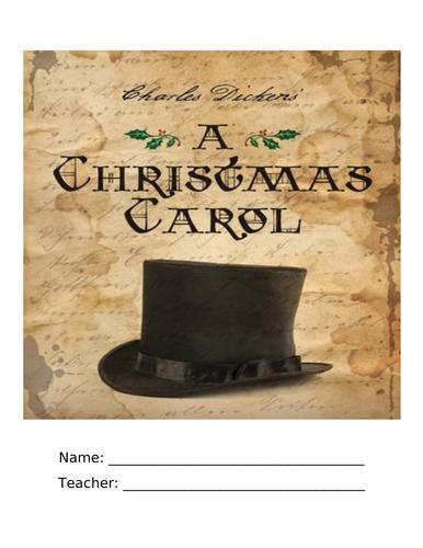 A Christmas Carol Homework Booklet KS3