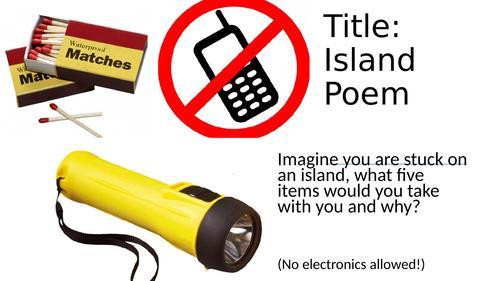 Island Man - Unseen Poem