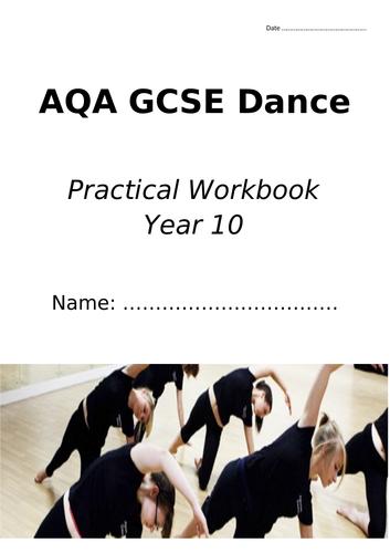 AQA GCSE Dance Performing Skills Workbook