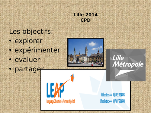 Lille in France and places in town