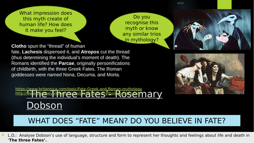 the three fates rosemary dobson poem