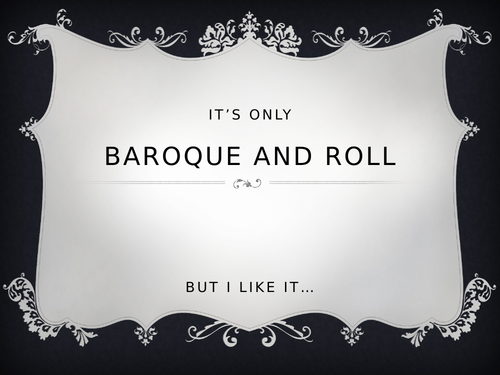 Baroque Power Point