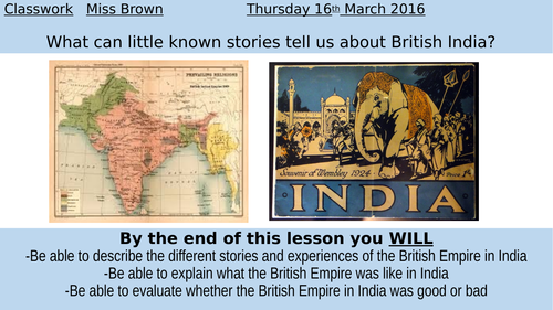 What was the empire like in India