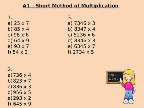 Multiplication and Division Learning Journey