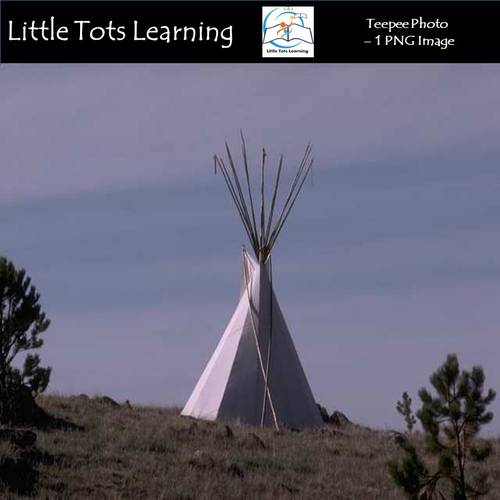 Teepee Photo - Native American - Commercial Use