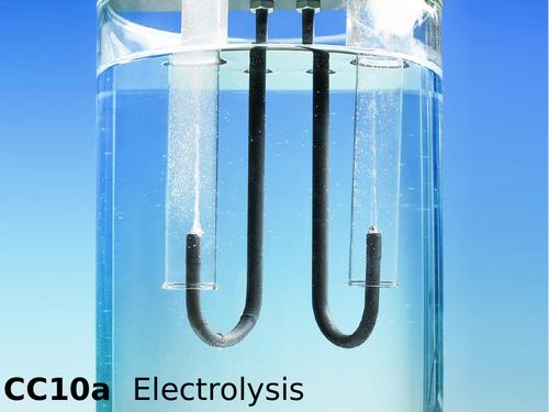 Edexcel CC10a Electrolysis