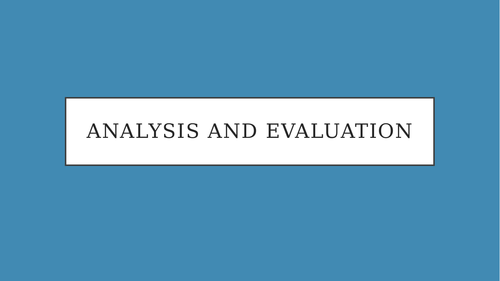 Analysis and Evaluation - The Secret Footballer