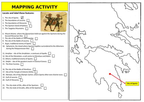 Spartan Society - Mapping Activity