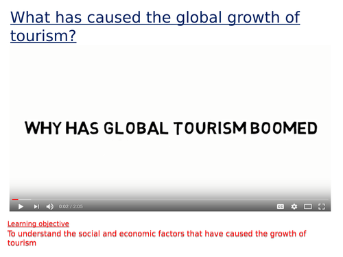 social factors in tourism