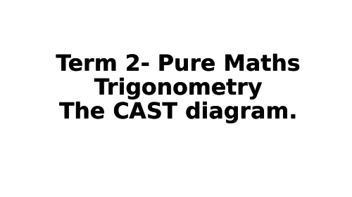Solving Trigonometric Equations Cast By Srukin Teaching Resources