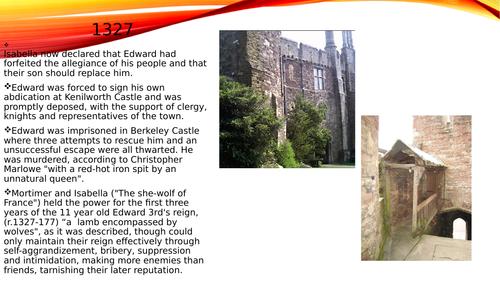 basic powerpoint on Edward 3rd