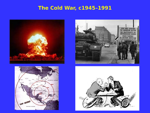 Cold War A-level PowerPoints (AQA, OCR)
