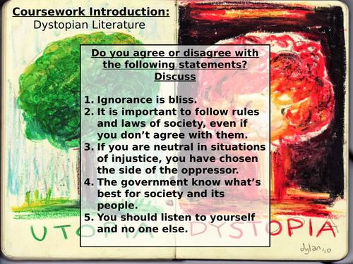 A Level- Utopian/Dystopian Introduction Lesson