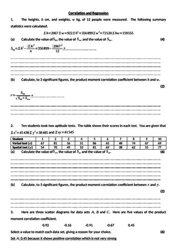 High School Correlation Resources