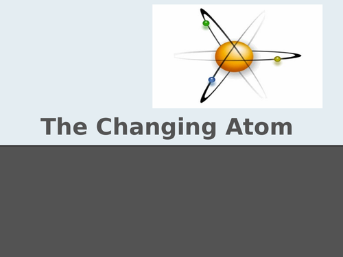 Changing atoms