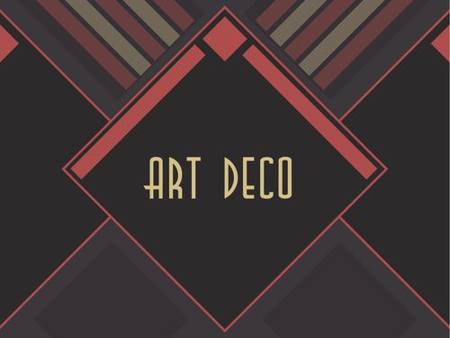 Design Technology: Art Deco