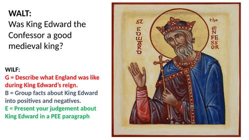 Edward the Confessor - a good king? Pre-Norman Conquest KS3 lesson