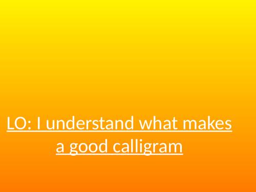 Caligrams