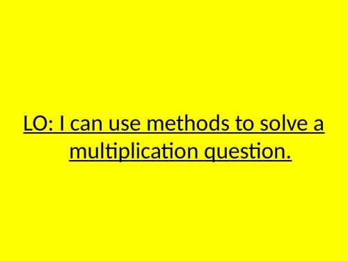 Multiplication & Divsion