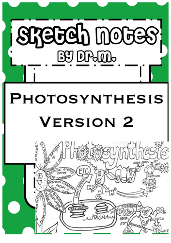Photosynthesis Sketch Notes