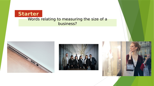 1.3.2 - Measuring business size