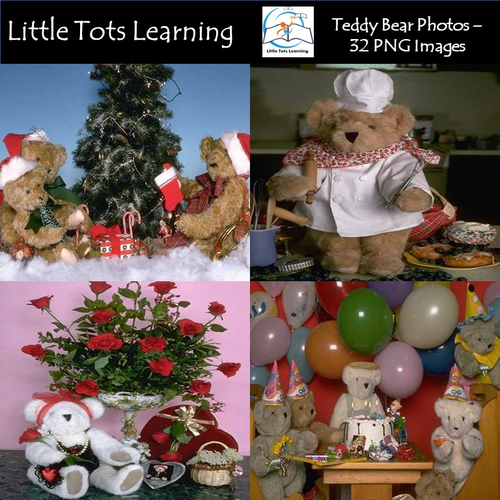 Teddy Bear Photos - Teddy Bears for Celebrations - Commercial Use