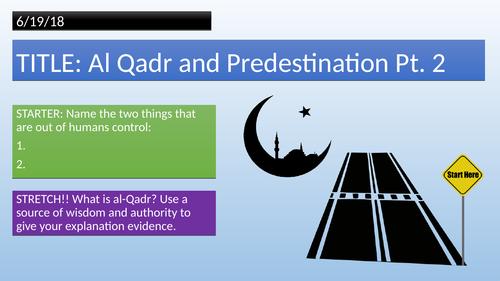 Muslim beliefs - Al Qadr