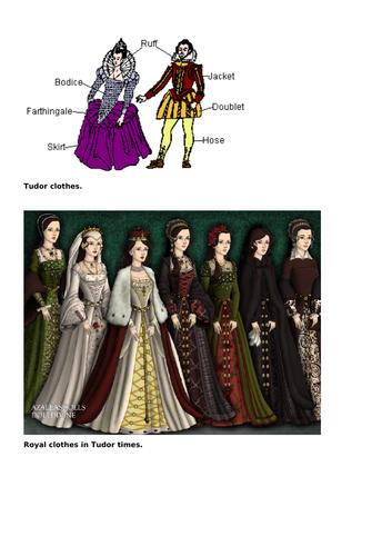 KS1 Tudors History lesson FULL LESSON