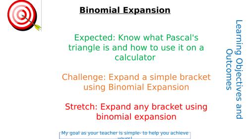 Binomial Expansion Lesson