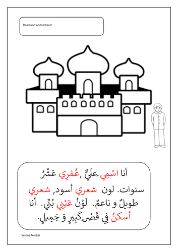 Arabic Worksheets: Primary Language Teaching Resources ǀ Tes