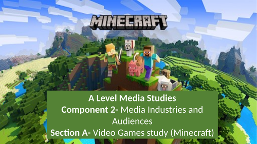 Minecraft and video games