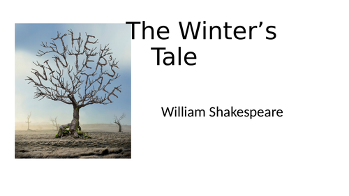 The Winter's Tale Shakespeare Introductory Powerpoint