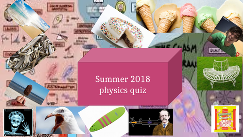 Physics quiz  GCSE SCIENCE- 20 questions with tie break