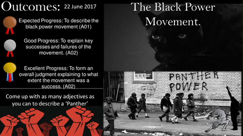 Success & Failure: 'The Black Power Movement'.