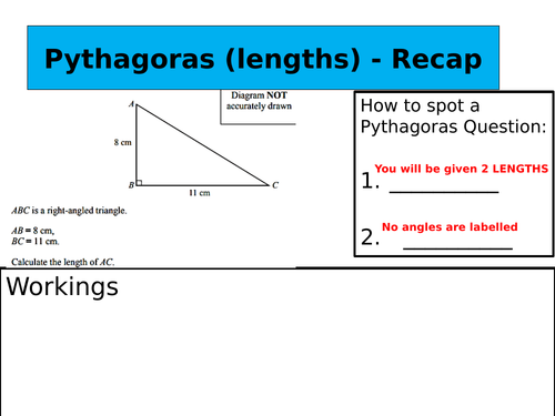 Pythagoras and Trigonometry and how to spot the difference!