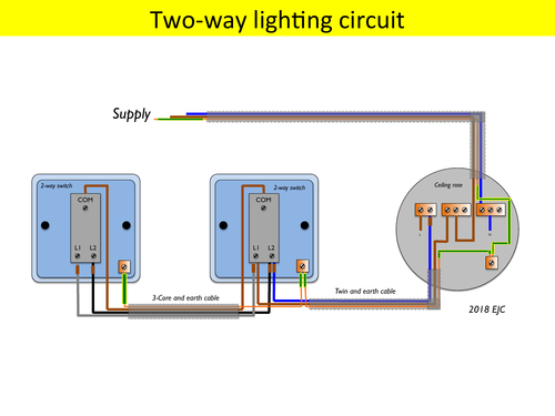 Lighting Circuits (2-way and Intermediate) - 4 pages
