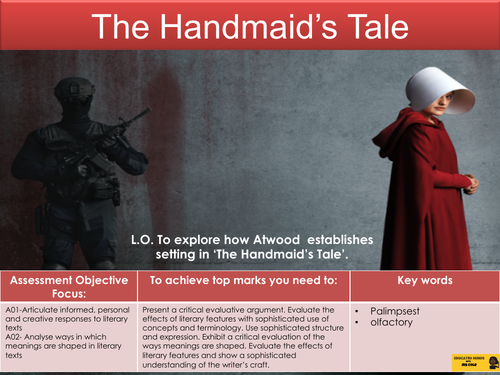 The Handmaid's Tale: Chapter One