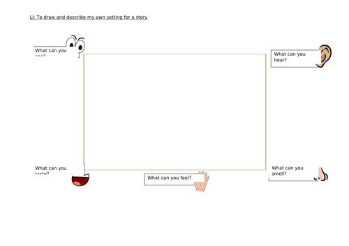 Setting planning sheet